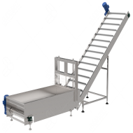 Dough_Cutter-Transfer_Conveyor_w---Eskort_Biscuits_Machinery