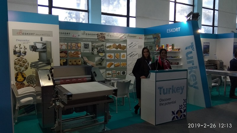 Eskort Biscuits Machinery Djazagro 2019 Standt 2