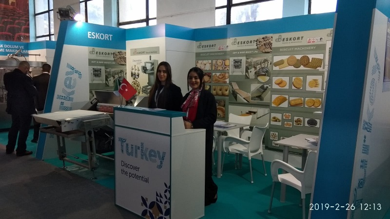 Eskort Biscuits Machinery Djazagro 2019 Standt 4