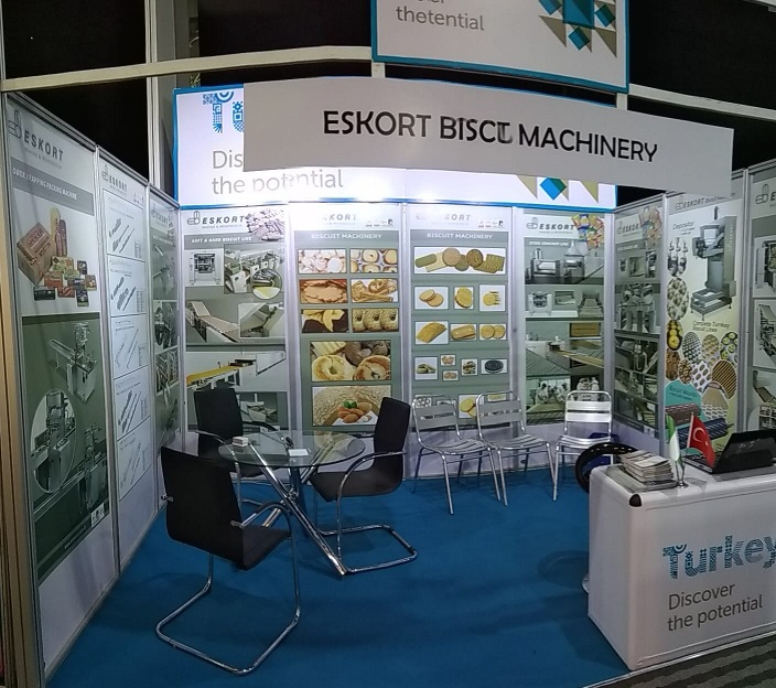 Eskort Biscuits Machinery agrofood 2019 Standt 2
