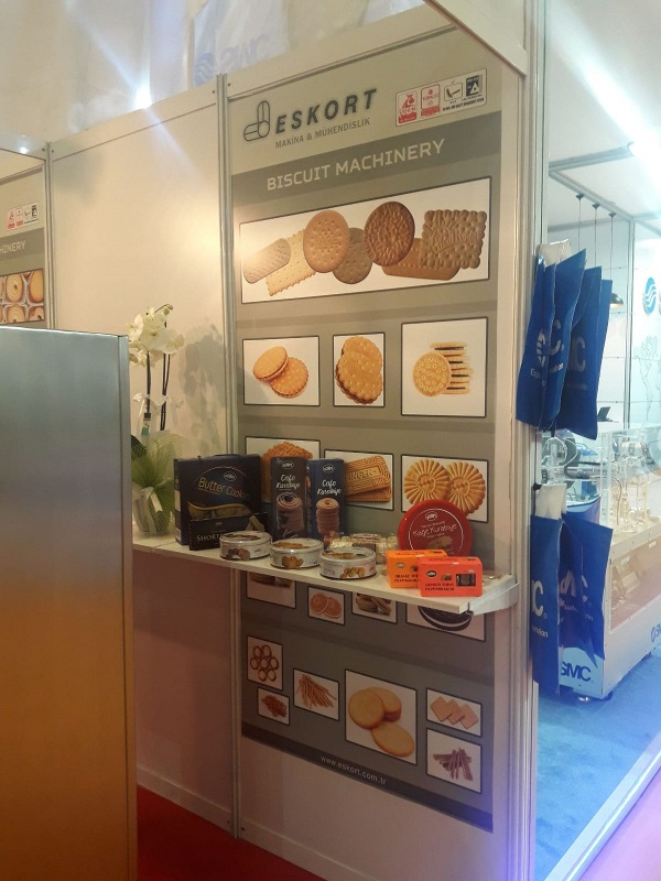 Eskort Biscuits Machinery idma 2019 standt 4