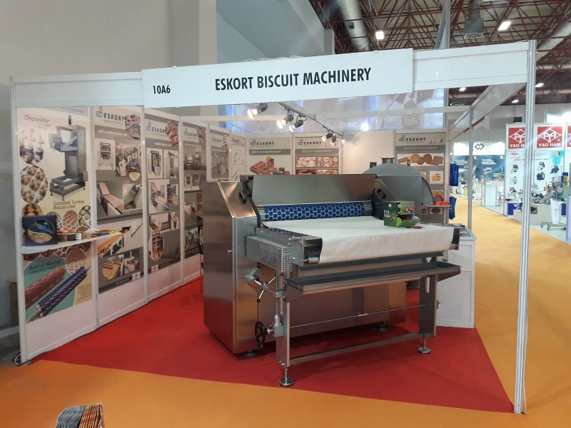 Eskort Biscuits Machinery idma 2019 standt 9