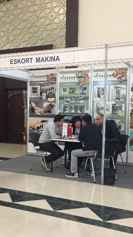Eskort Biscuits Machinery uzfood 2019 standt 9